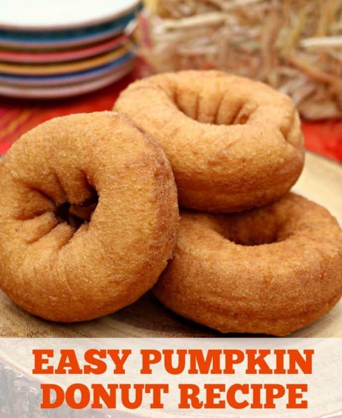 Pumpkin Donut Recipe. An easy recipe for baked pumpkin donuts