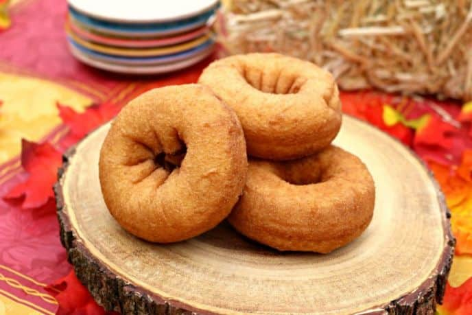 Easy Baked Pumpkin Donut Recipe. Make these pumpkin donuts in no time right at home