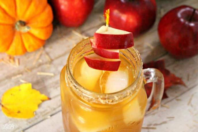 Spiked Apple Cider Drink