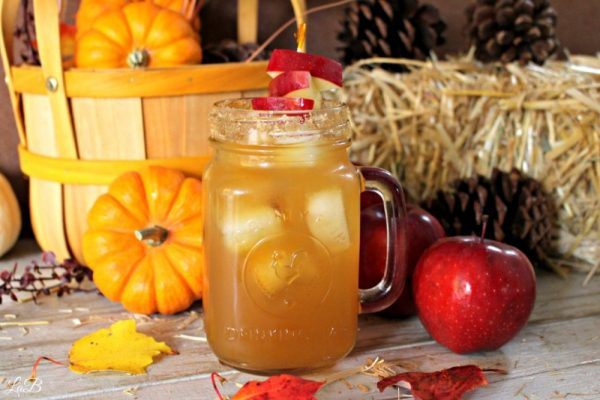 Easy apple cider mixed drink recipe