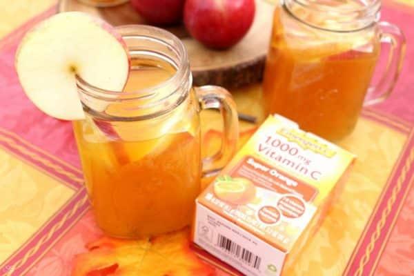 Hot Apple Cider with Emergen-C