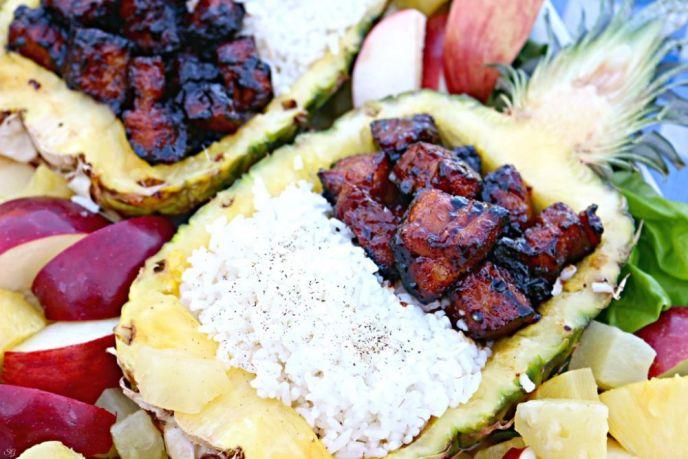 Grilled Mongolian Inspired Pork Belly Recipe