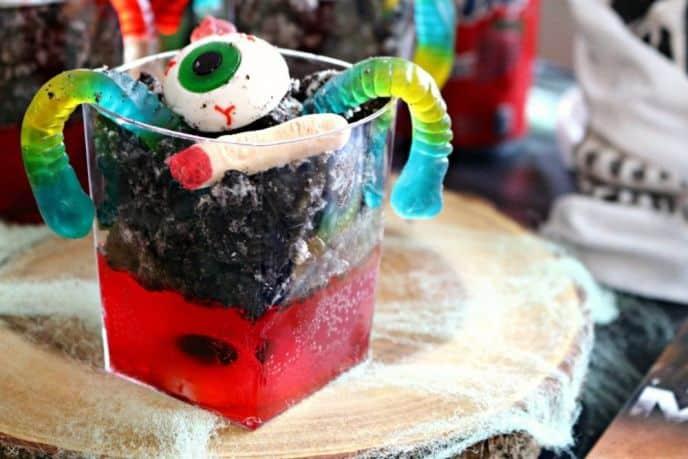 Fanta Strawberry Halloween Jello