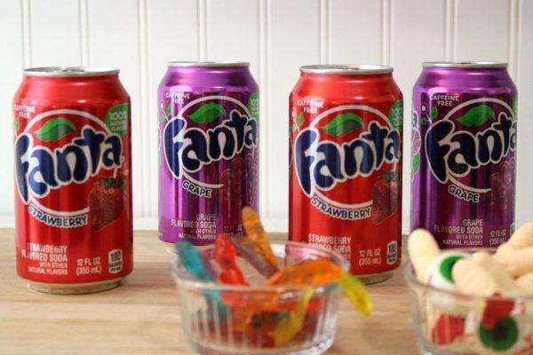 Fanta Soda for making Halloween jello