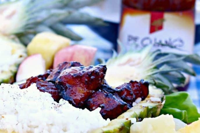 Grilled Mongolian Pork Belly
