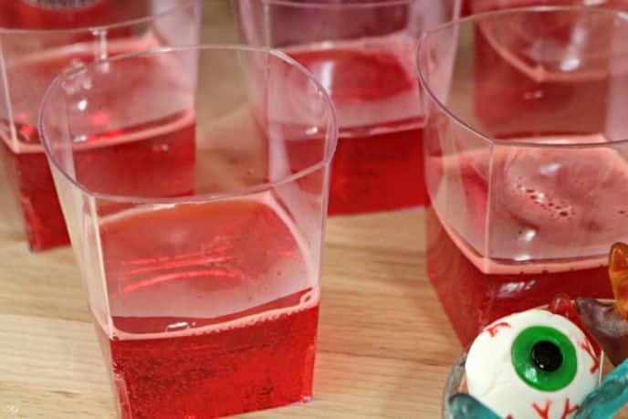 Fanta Strawberry Jello Cups