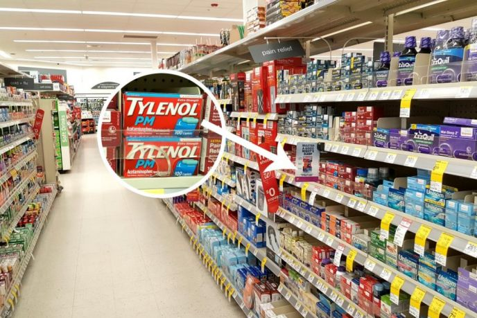 TYLENOL PM at Walgreens