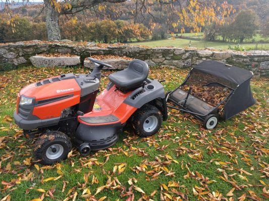 How to winterize your lawn mower.