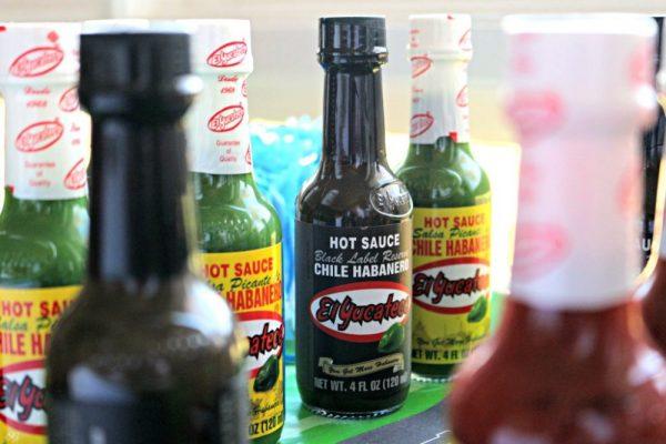 El Yucateco Hot Sauce Black and Green Habanero