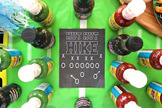 Free Football Printable Hut Hut Hike