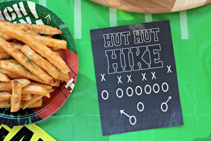 Printable Football Party Sign