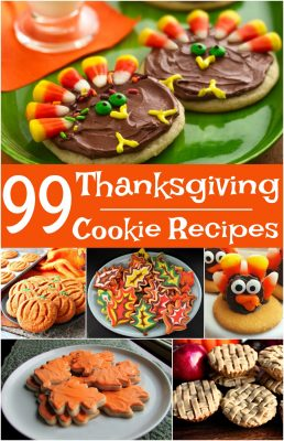 Best roundup of Thanksgiving cookies! These list of Thanksgiving cookie ideas is all you'll need this year!