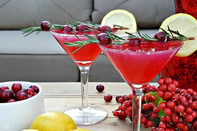Cranberry Lemon Drop Drink Recipe