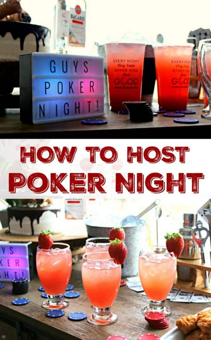 How to Host a Poker Night at Home! EASY tips for hosting the ultimate poker night! Make your poker night a SUCCESS by using these easy tips, including mixing our favorite Wendy's Signature Beverages with Bacardi rum! Check out this easy recipe and join the party! #SignatureSips