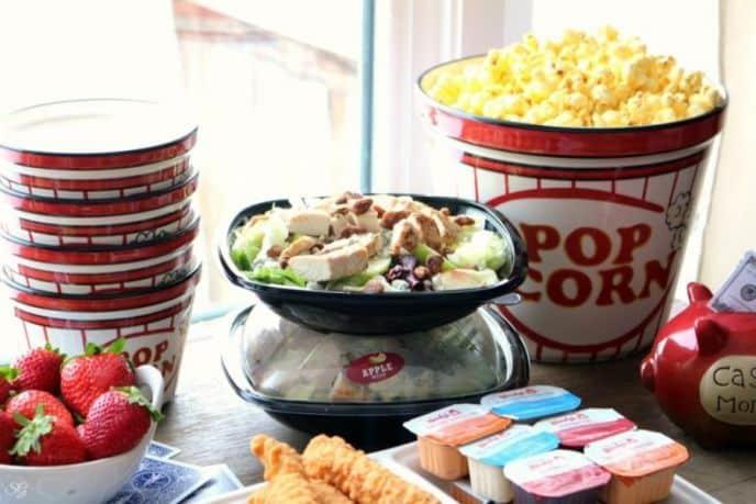 Apple Pecan Salad for Poker Night