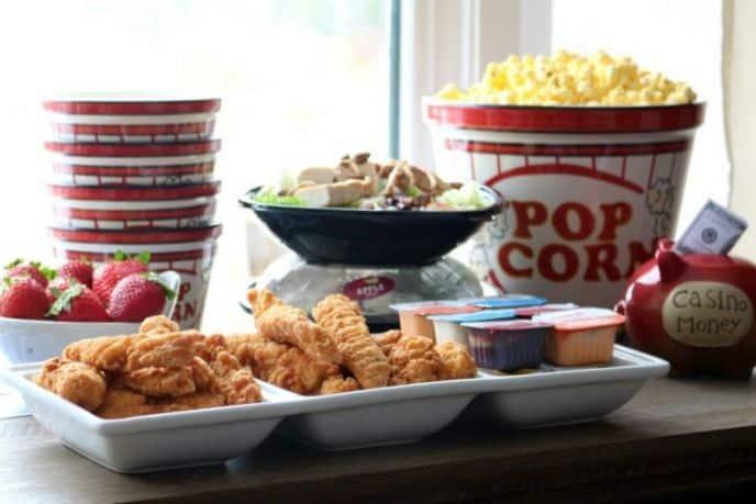 Wendy's Chicken Tenders for Poker Night