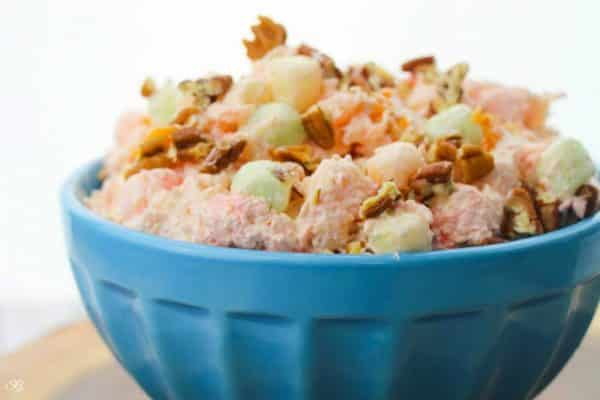 How to make ambrosia salad from scratch