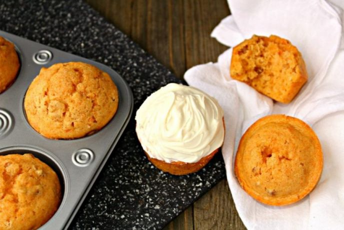 Sweet Potato Blender Muffins