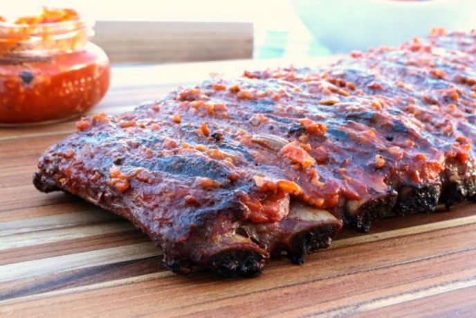 How to grill pork ribs fast on gas grill