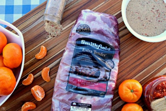 Smithfield Extra Tender St Louis Pork Spareribs
