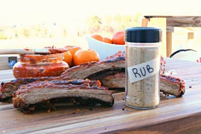 Sugar free BBQ rub for ribs, chicken, steaks, burgers and more.