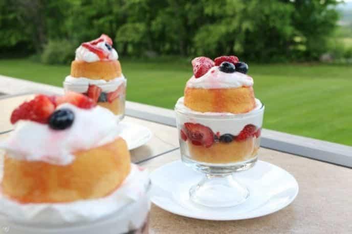 Berry Short Cake Dessert Recipe