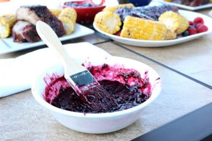 Brasberry BBQ Sauce Recipe - Blueberry Raspberry Sauce Recipe