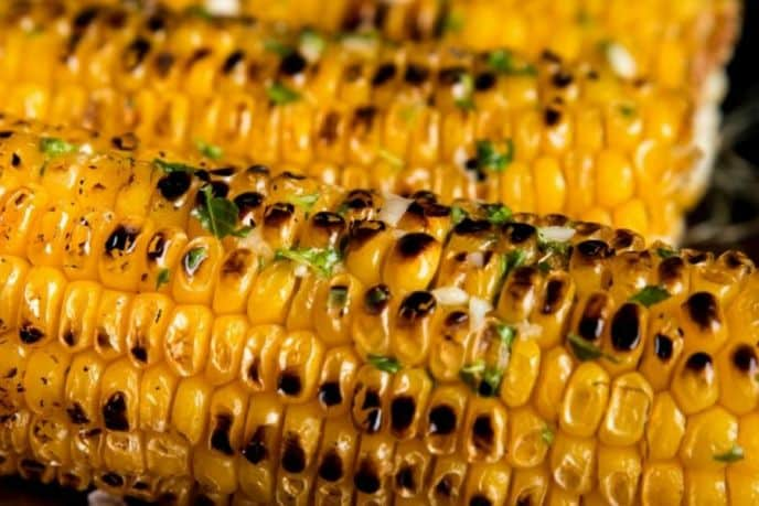 How to make corn on the cob on the barbecue grill.