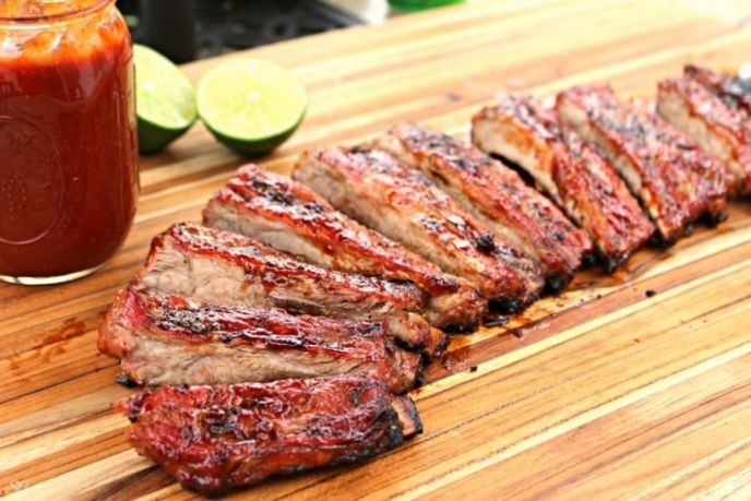 Lime BBQ Sauce Ribs Recipe