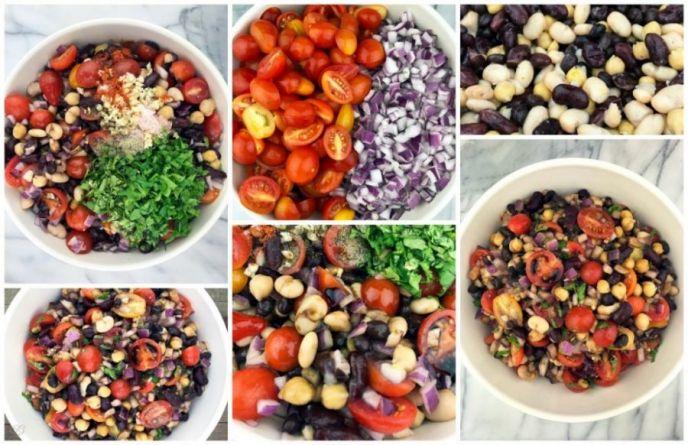 How to make 4 bean salad!