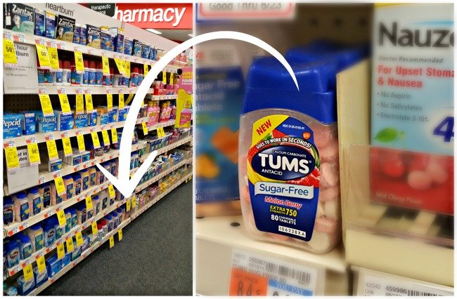TUMS Sugar Free Chewable at CVS