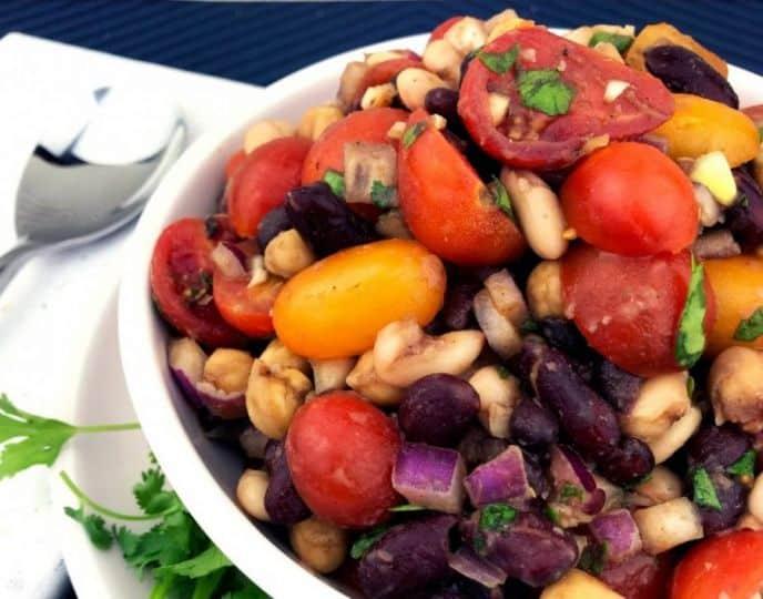 Easiest bean salad recipe