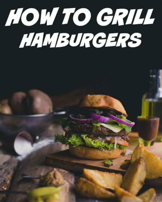 How To Grill Hamburgers! Learn how easy it is to grill hamburgers on the barbecue grill. From forming the patties to grilling the burgers, you'll learn how to make hamburgers on the grill right here!