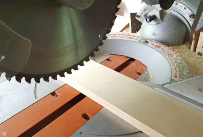 Cutting wood for queen DIY headboard