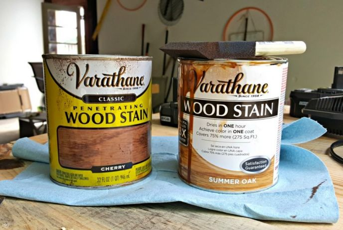 Stain colors for headboard