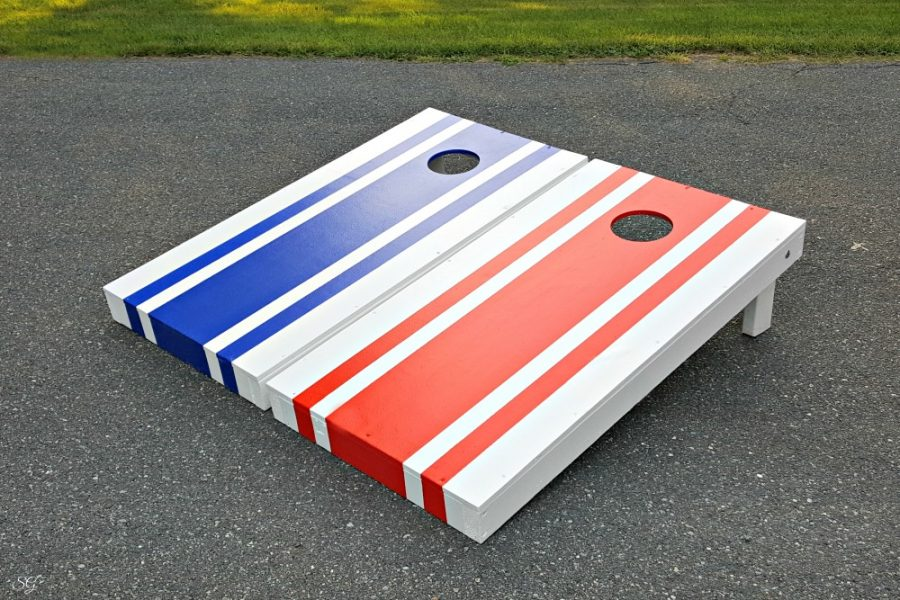DIY Cornhole Boards – Measurements + Photos!