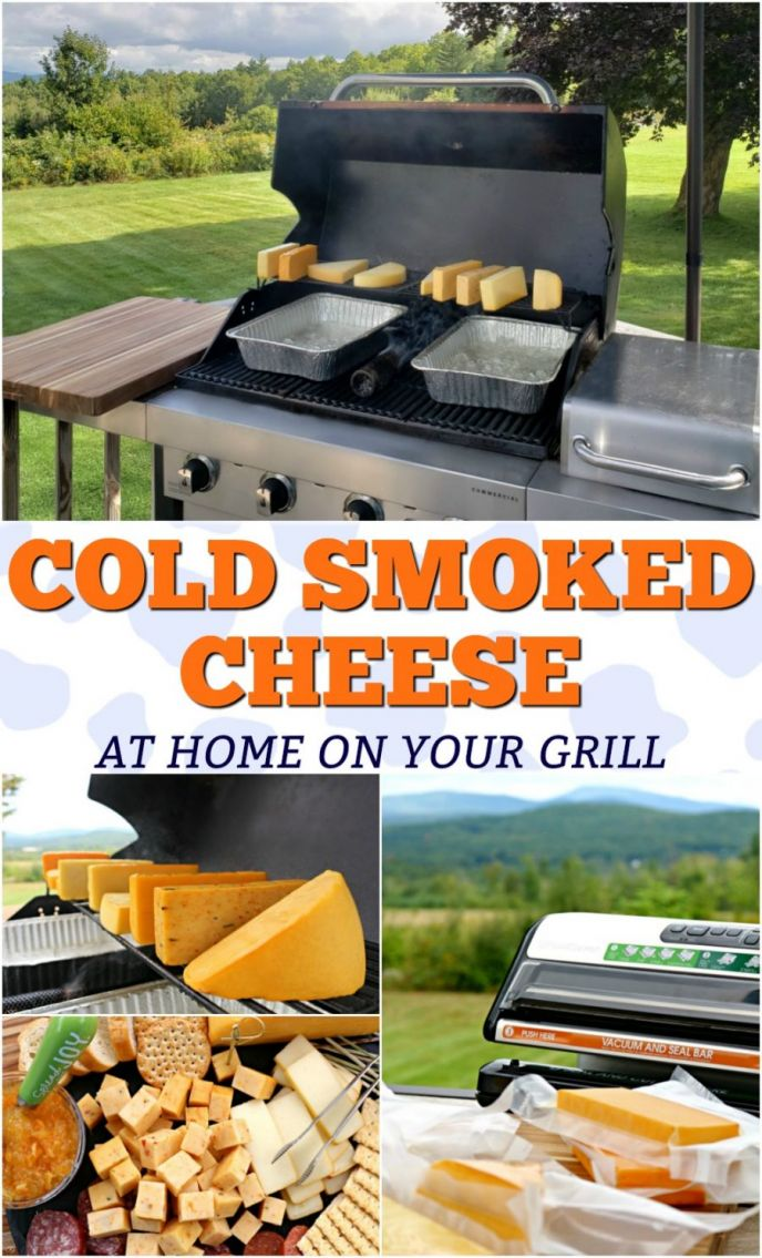 Learn how to cold smoke cheese on your BBQ grill. Making cold smoked cheese is real easy to do, and today is the day you're going to learn! Follow this tutorial and learn how we smoke cheese and #SealToSavor with the FoodSaver® FM5200 Vacuum Sealing System! #grill #grilling #smokedcheese #cheese #food