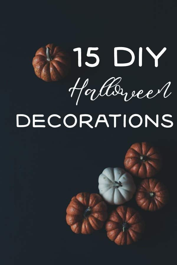Halloween Home Decor Decorations! EASY DIY Halloween decorations for your home, make them today!