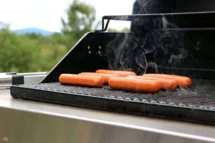 Grilling Eckrich Smoked Sausage
