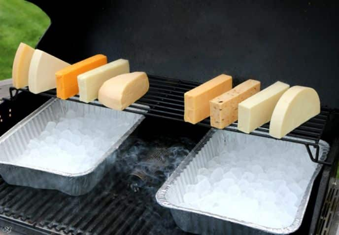 How to cold smoke cheese.