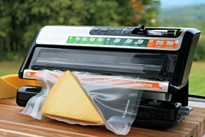 How to smoke cheese and store them in a foodsaver vacuum bag.