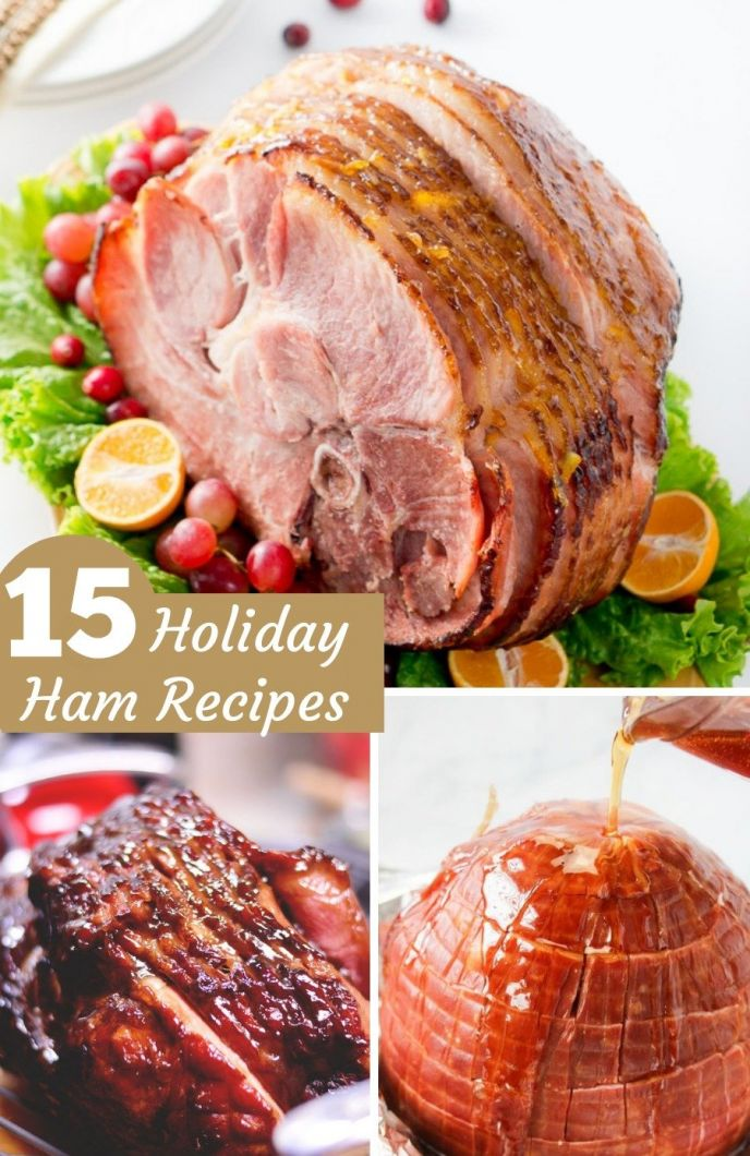 Thanksgiving and Christmas Ham Recipes. Delicious ham recipes for the holidays!