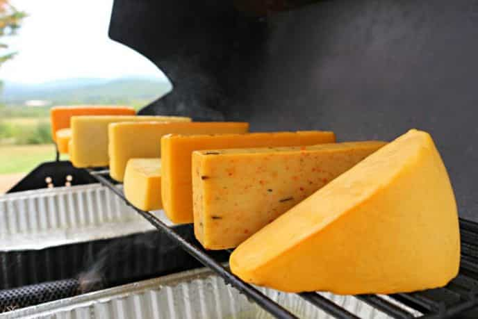 Cold Smoked Cheese! Easy directions for cold smoked cheese on the barbecue grill. Learn how to cold smoke cheese.