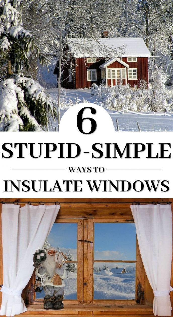 How to Insulate Windows and save on your energy usage all winter long! Check out these EASY WAYS to add insulation to your windows. Insulating windows is easy to do! #windows #home #homeimprovement #diy