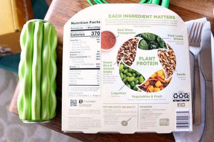 Healthy Choice Plant-Based Power Bowls - Mango Edamame Power Bowl