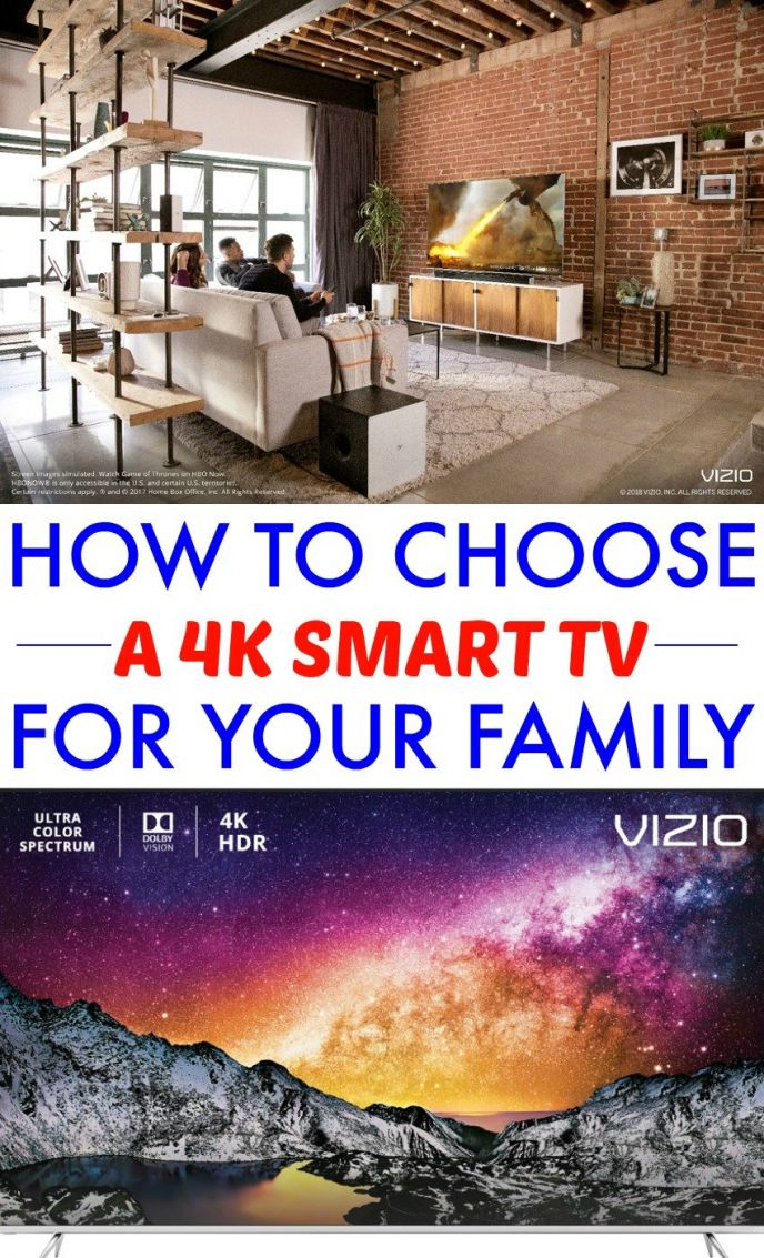 How to choose a 4K Smart TV for your family. See what aspects of a 4K TV you should look at when picking out a new television!