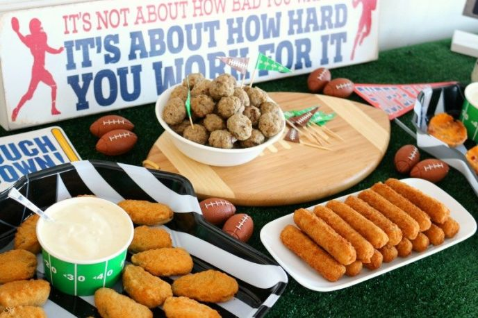 Football food party ideas!