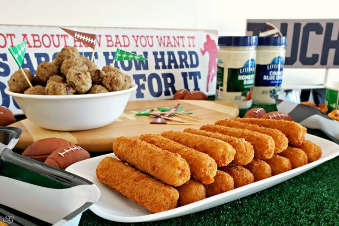 Football Game Day Snacks!