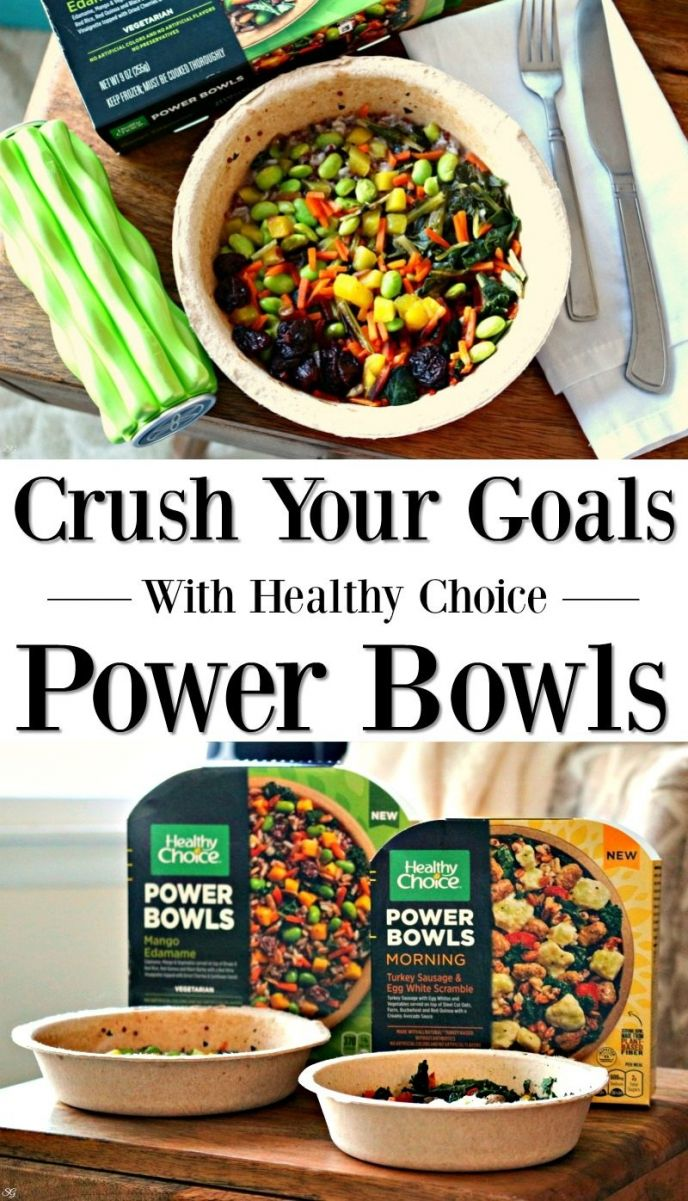 These protein packed Healthy Choice Power Bowls will fuel you up and help you reach your goals! Face the day head on knowing you're ready to go! CLICK to CRUSH YOUR GOALS! #feelunstoppabowl #healthychoice #powerbowls #food #delish #yummy #eat #foodie #feedme #eat #letseat #letsdothis #goals #unstoppable #foodie #foodies #delish #yummy #nomnom