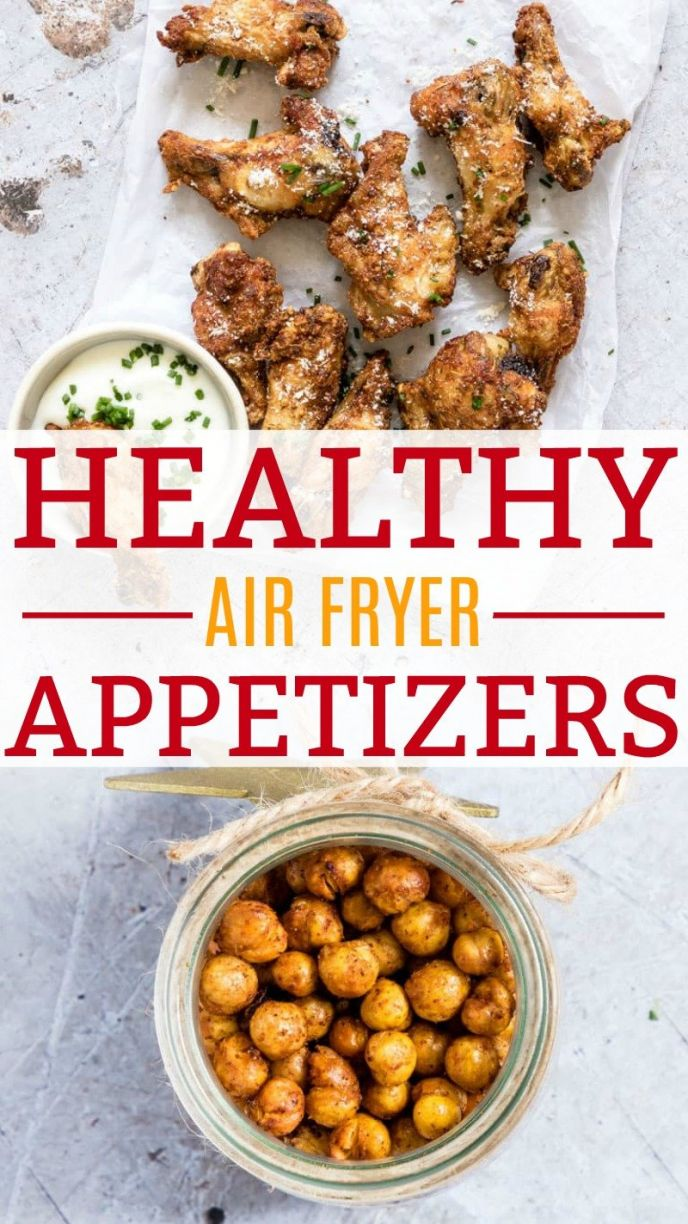 Healthy Air Fryer Appetizer Recipes! Grab these healthy and better for you air fryer appetizer recipes for your next #tailgating party, gathering, or family dinner night! CLICK to check out these Air Fryer Recipes now! #airfryer #recipes #chicken #chickpeas #chickenwings #food #foodie #foods #cooking #fryer #foodrecipes #friedchicken #fried #yummy #nomnom #eat #appetizer #appetizerrecipes #superbowl #football #superbowlparty #partyideas #homegating #wings #chickenwings #party